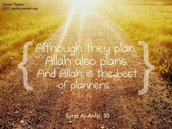 allah-the-best-planner