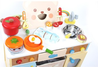Baby-Toys-Cartoon-Bear-Kitchen-Set-Wooden-Toys-Japan-Mother-Garden-Strawberry-Kitchen-Food-Set-Pretend